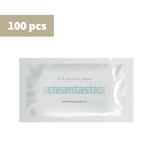 Indivudally Packed Alcohol Scented Hand Wipes 100psc