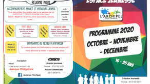 PROGRAMME 16-25 ANS OCTOBRE - NOVEMBRE - DÉCEMBRE 2020
