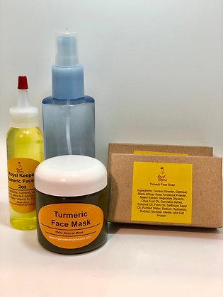 Turmeric Mask Package