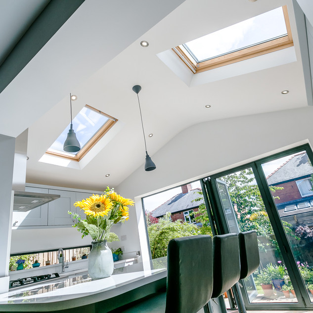 Single storey conservatory replacement