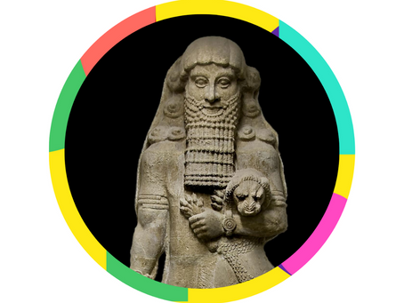 Gilgamesh — the bina version of one of the oldest stories in history.