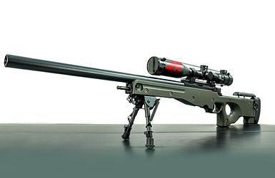 Battalion 45 Airsoft Gun L96 AWS OD Stock