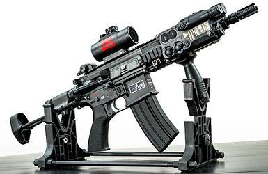 Battalion 45 Airsoft Gun 2nd Gen Electric Gun HK 416 C Custom