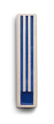 מזוזה בטון ש' כחולה ארוכה