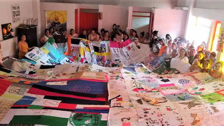 People Choosing Peace: Women's advocacy group in Colombia spread hope with quilt project