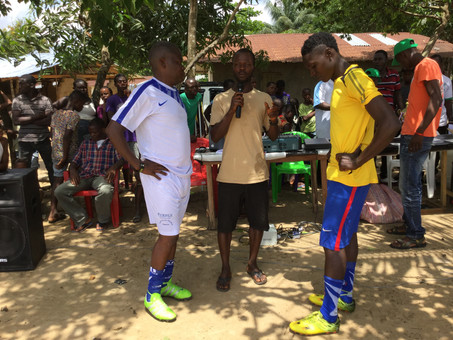 Playing with the 'Enemy': Football offers Peace chance in Liberia