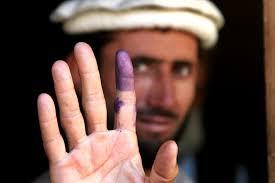 Afghans Vote Amid Intense Violence