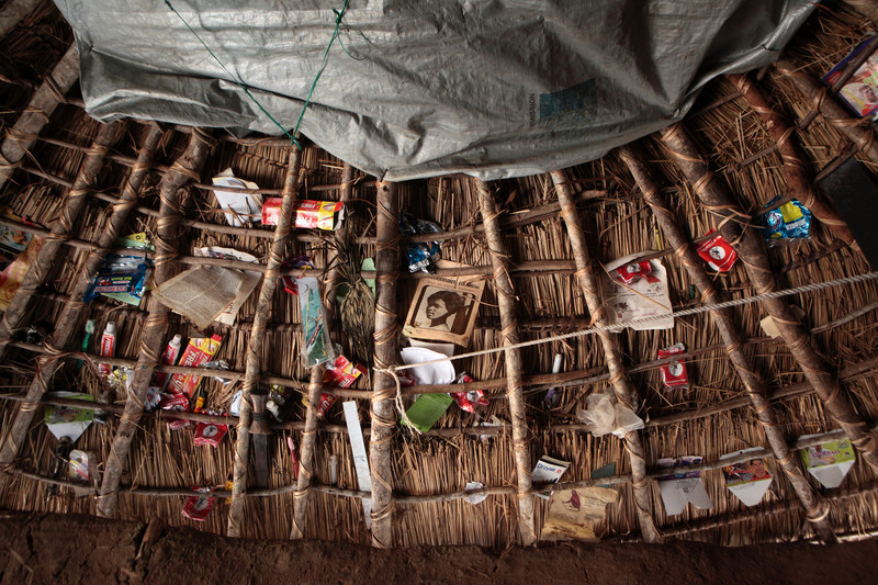 An IDP camp in the Democratic Republic of Congo. Photo by Tom Bradley.
