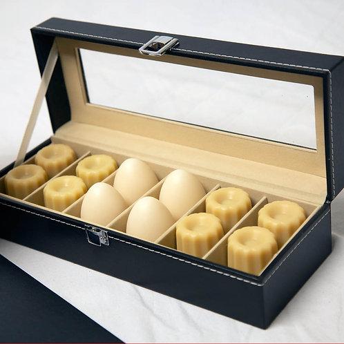 Coffret cadeau de luxe 12 savons cannelés & œufs