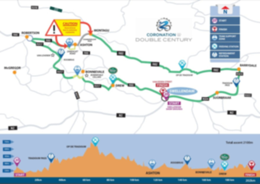 2016 Double Century Route