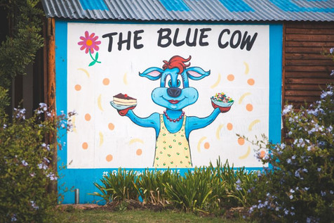 The Blue Cow
