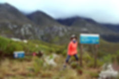 Start of Plaat West Hike in Marloth Nature Reserve Swellendam
