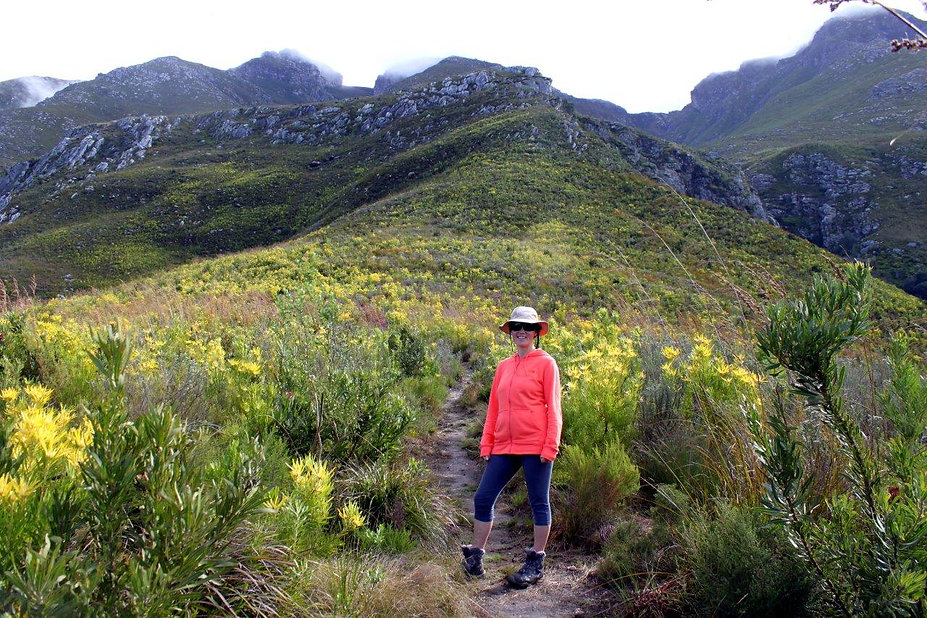 4km into Plaat West Hike in Marloth Nature Reserve