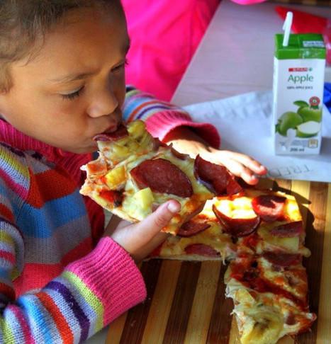 Pizza making at Tredici