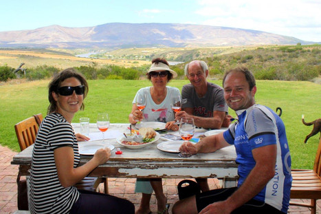 Sijnn wine estate and Mountain Biking