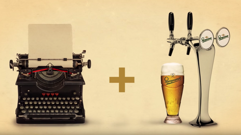 Write for beer