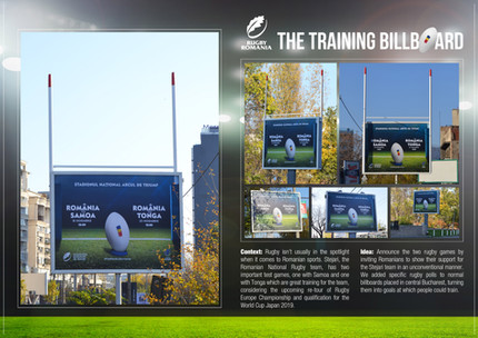 The Training Billboard