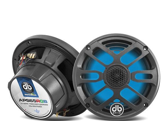 """Bocina Marina DB Drive APS65RGB 6.5"""" RGB Loud Speaker"""