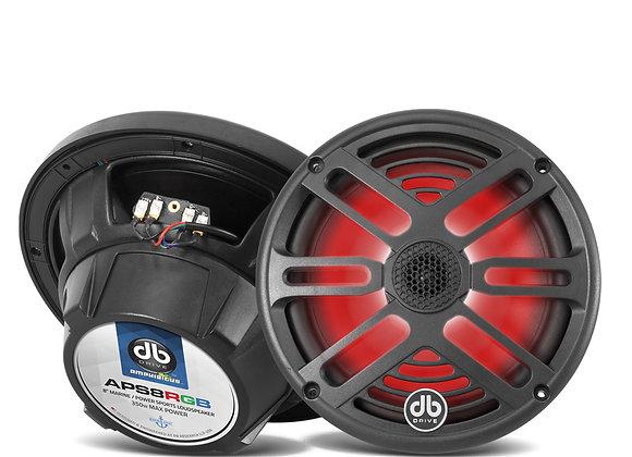 """Bocina Marina DB Drive APS8RGB 8"""" RGB Loud Speaker"""