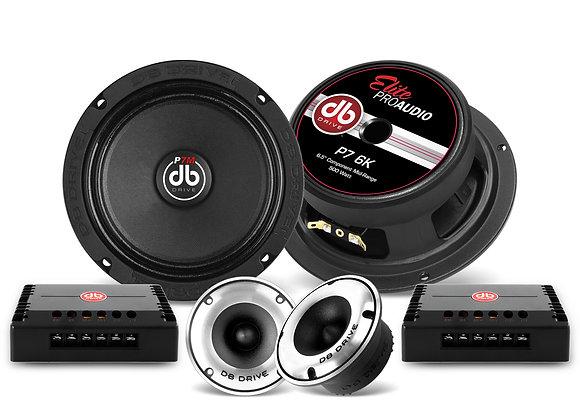 Set de Medios DB Drive P7 6K 6.5 Pulgadas