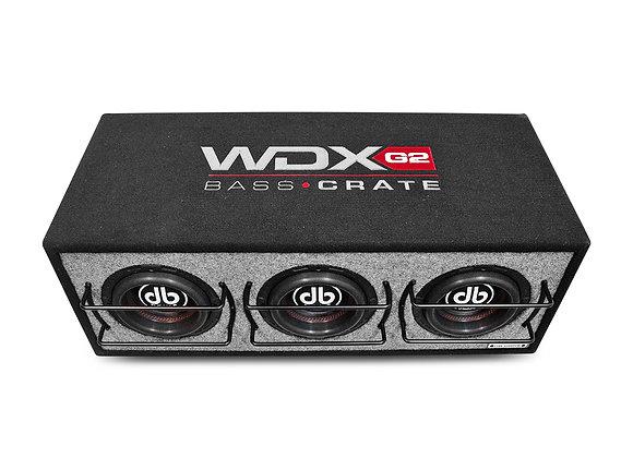 Cajón de 3 Subwoofers DB Drive WDX6-3BC