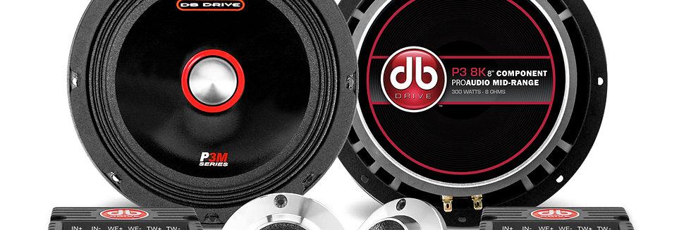 Set de Medios DB Drive P3 8K