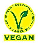 Logo Vegano - Amarelo e Verde WBorder.jp