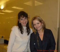 With Renée Fleming