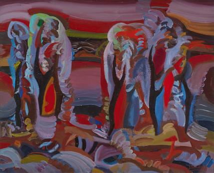 Rudens medžiai, 1992