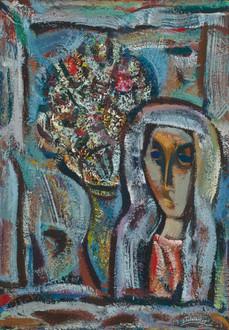 Mergaitė ir natiurmortas, 2005