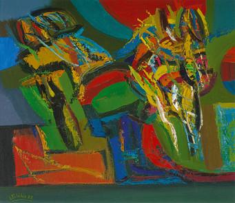 Rudens spalvos, 1982
