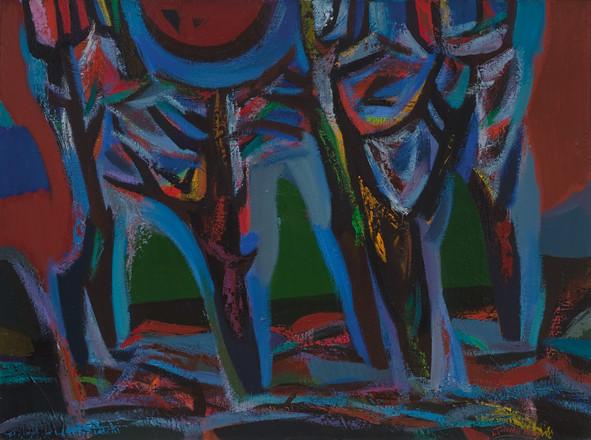Apdegę medžiai, 1983-2003