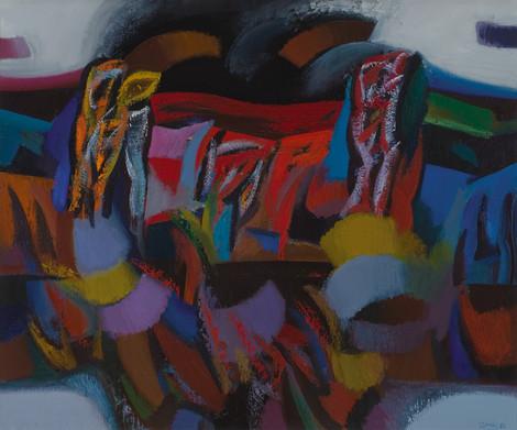 Lietingas ruduo, 1986