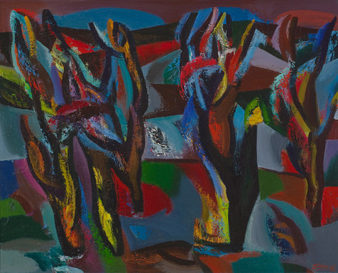 Pasenę medžiai, 1985