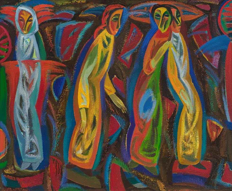 Kalvarijų moterys, 2004