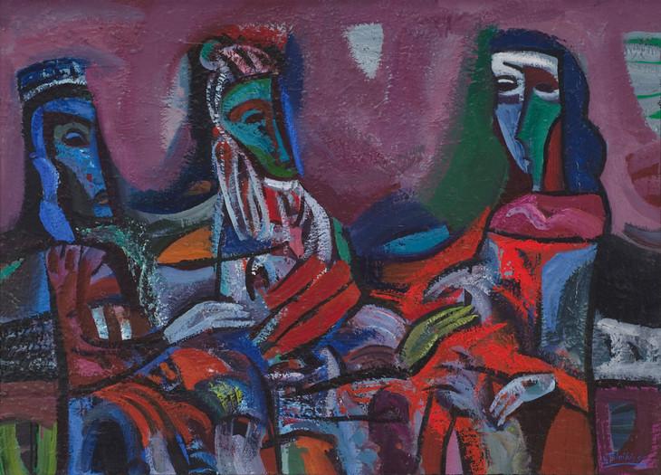 Trys figūros II, 1995