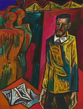 Stasio Budrio portretas, 1972