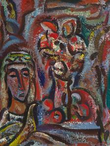 Mergaitė ir gėlės, 1994