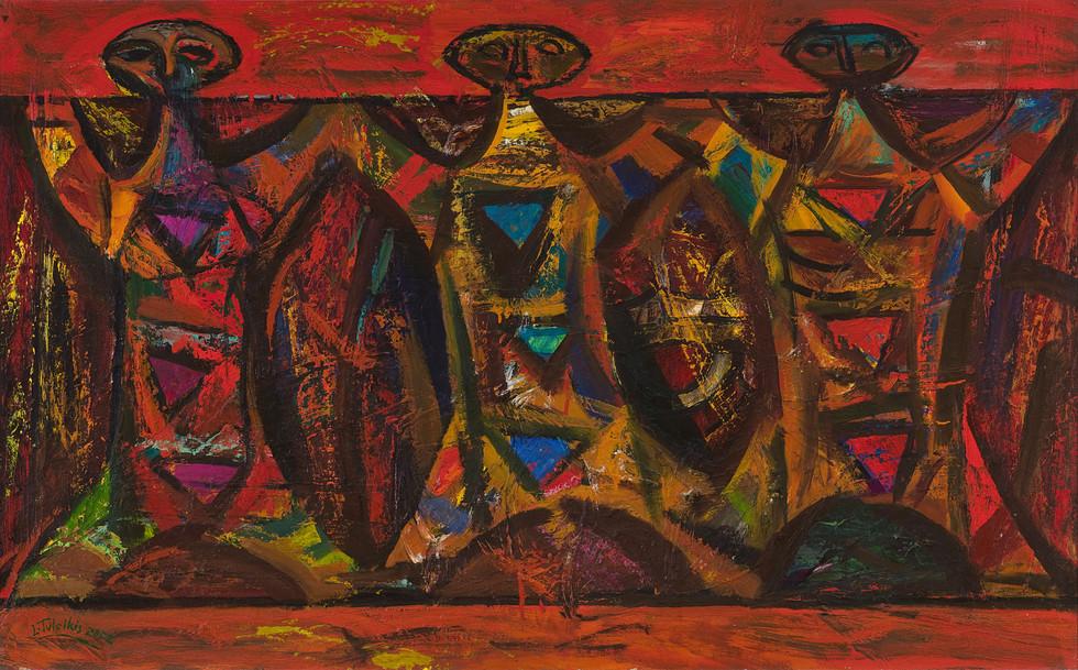 Trys figūros, 2003