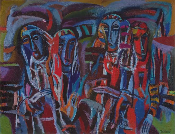 Neramią dieną palydint, 1995