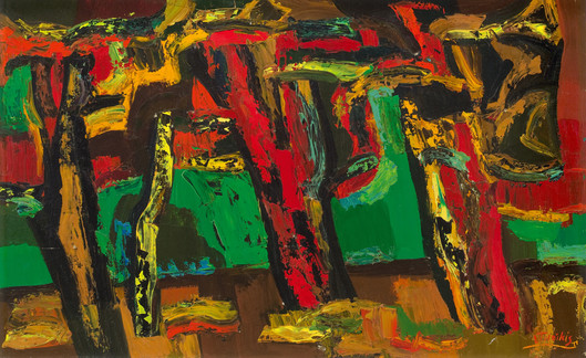 Rudens spalvos, 1977
