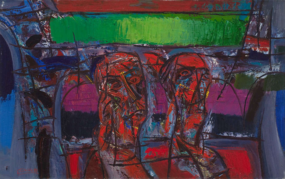 Dvi figūros, 1993