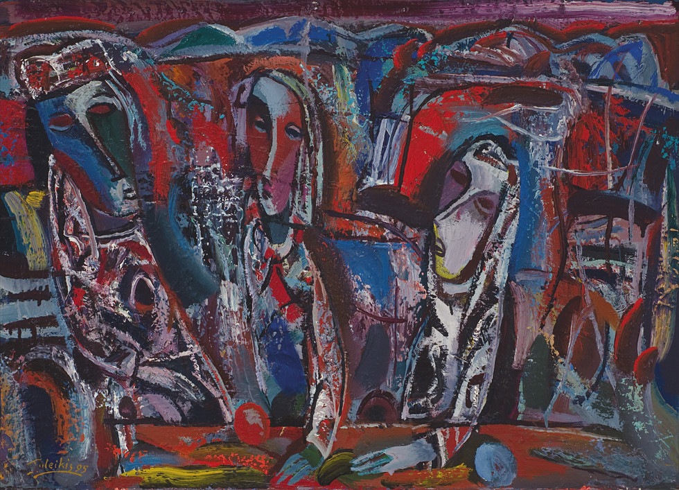 Trys figūros I, 1995