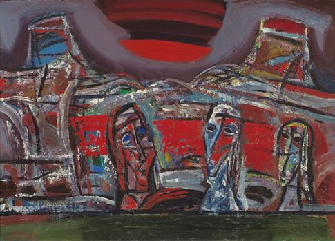 Po raudonu ženklu, 1995
