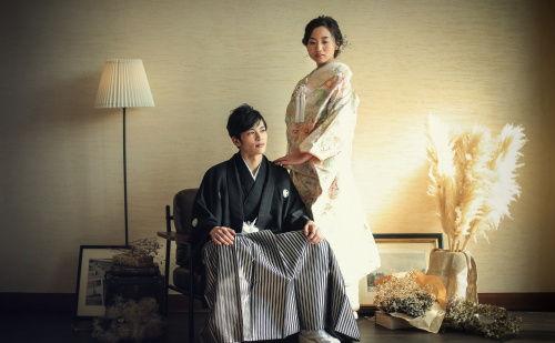 紋付き&袴~和装でカッコよく撮りたい