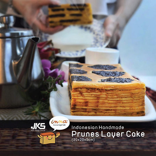 JKS Homemade Indonesia Layer Cake (Prunes)