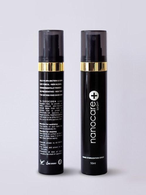 Non-Alcohol Nano Zinc Hand Sanitiser Spray Bottle