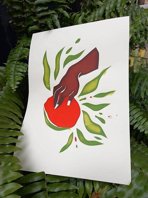 Arte Serigrafia | @camilapinheiroalbu