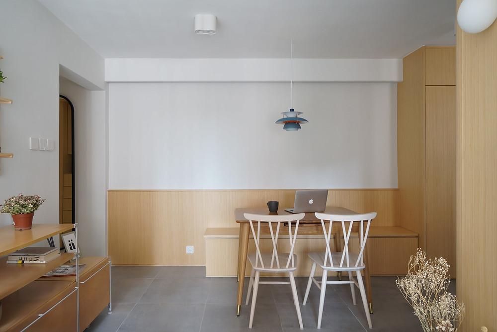 可供 2-8 人使用用餐空間