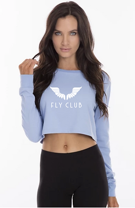Fly Club Cropped Long Sleeve